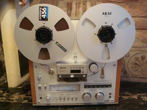 Akai GX-625 Consumer reel to reel recorder