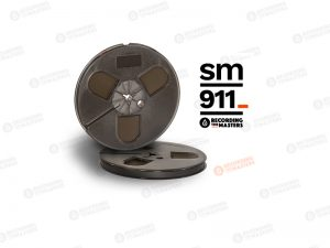 "SM911 1/4"" tape on 7"" plastic Trident Reel"