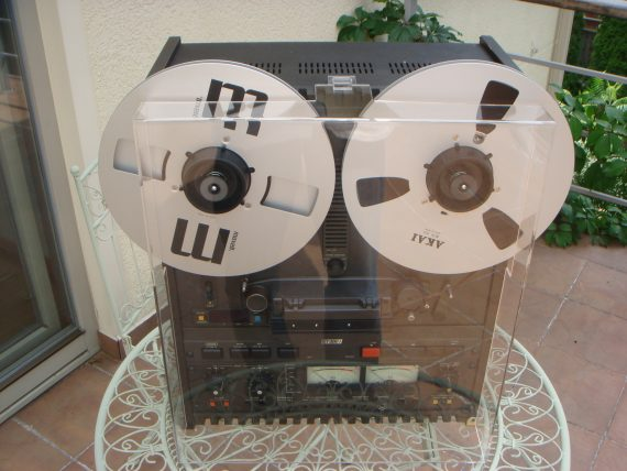 Box Dust Cover for Reel to Reel Recorder - Otari