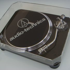Custom Made Dust Cover for Audio Technica Turntable