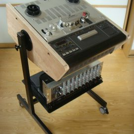 Custom Made Stand with Side Panels Stand for Studer