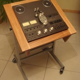 Custom Made Stand with Basic Cabinet Stand for Technics