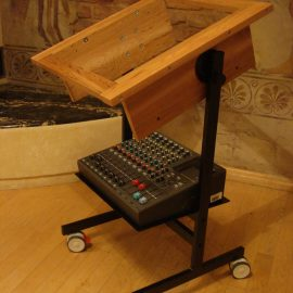 Custom Made Stand with Basic Cabinet Stand for Any Reel to Reel Recorder