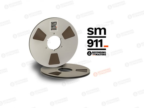 """NEW RMGI PYRAL BASF RTM SM911 1/4"""" 2500' 762m 10.5"""" Metal Reel NAB Hinged Box R34120"""