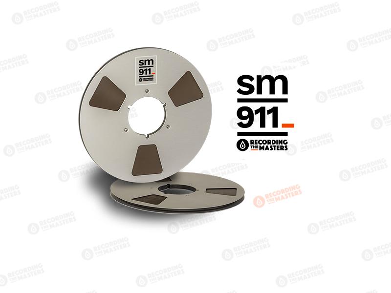 NEW RMGI PYRAL BASF RTM SM911 1/4″ 2500′ 762m 10.5″ Metal Reel NAB Hinged Box R34120