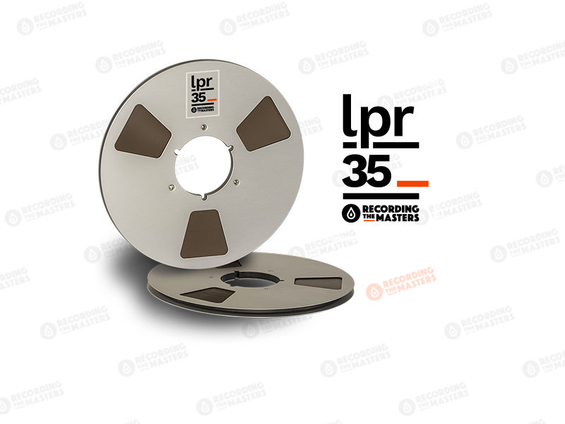 NEW RMGI PYRAL BASF RTM LPR35 1/4″ 3608′ 1100m 10.5″ Metal Reel NAB Hinged Box R34520