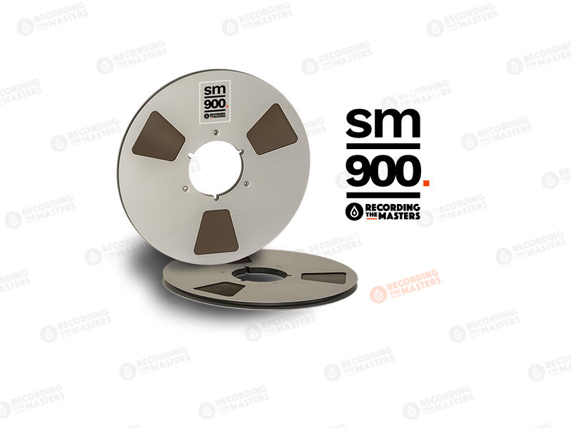 NEW RMGI PYRAL BASF RTM SM900 1/4″ 2500′ 762m 10.5″ Metal Reel NAB Hinged Box R34620