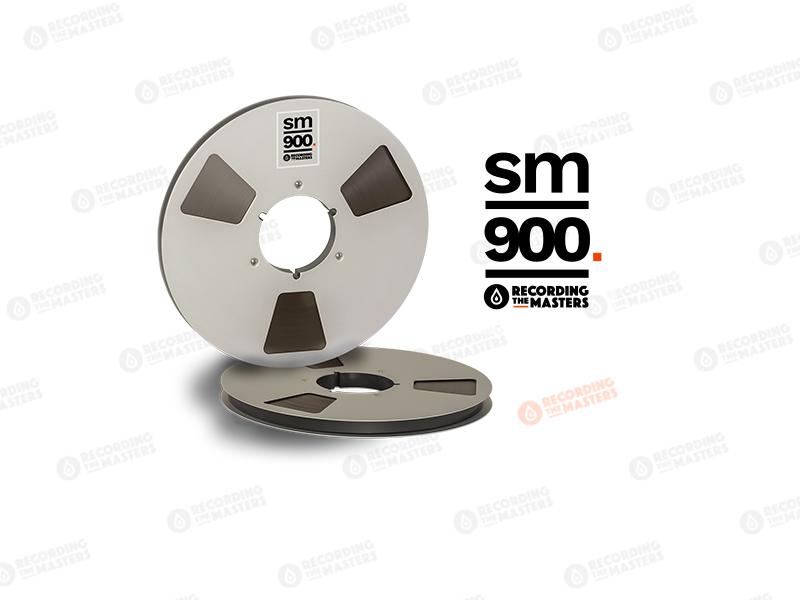 NEW RMGI PYRAL BASF RTM SM900 1/2″ 3750′ 1143m 12.5″ Metal Reel NAB Hinged Box R34725