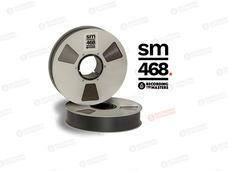 NEW RMGI PYRAL BASF RTM SM468 2″ 2500′ 762m 10.5″ Prec. Reel NAB Hinged Box R35420