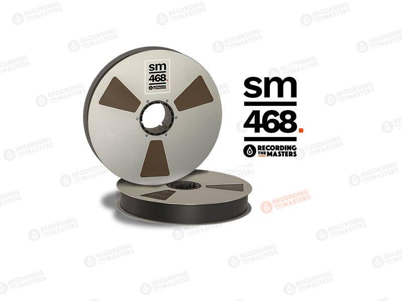 NEW RMGI PYRAL BASF RTM SM468 2″ 5000′ 1524m 14″ Prec. Reel NAB Hinged Box R35421