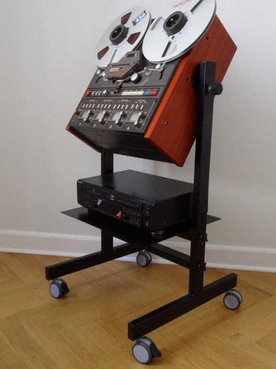 Custom Made Stand with Side Panels Stand for Tascam