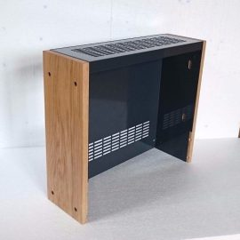 Custom Metal and wood Cabinet for Revox B77 Reel Tape Recorder