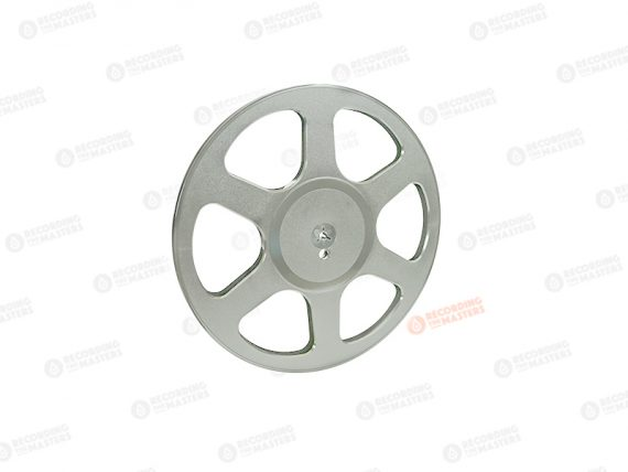 "NEW Trident RTM Plastic Reel and Hub 1/4"" 6.3mm Hinged Box - 10,5"" R39502"