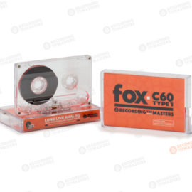 NEW RTM Cassette Tape FOX C60 60min Type I Normal Bias Clear C-0 Shell R41510