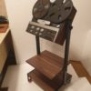 Custom Made Stand with Two Shelves for Revox B77 Reel to Reel Recorders