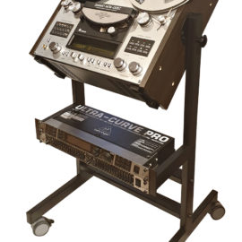 Custom made Stand with Rack Mount 2U - 10U for any Reel to Reel Recorder