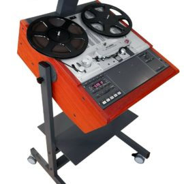 Custom Made Stand with Meter Bridge for Studer Reel to Reel Recorders