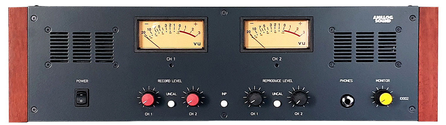 NEW VU Meter Bridge Unit for Studer A807, A810, A67, B67, C37 or any Other Reel To Reel Tape Recorder