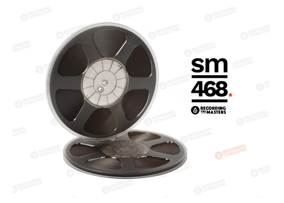 NEW RTM SM468 1/4″ 2500′ 762m 10.5″ Plastic Reel Trident Hinged Box R35112