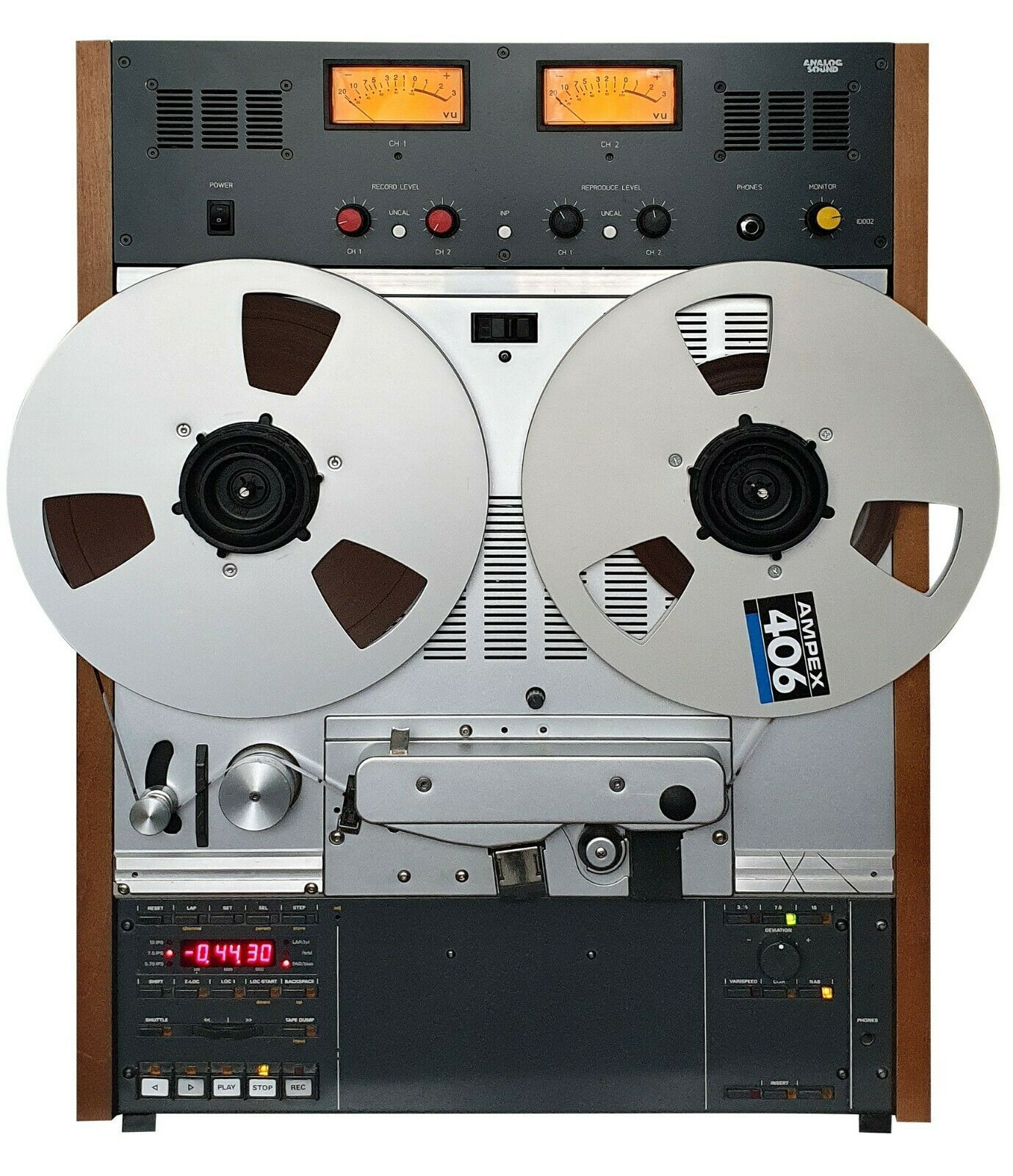 New VU Meter Bridge + side panels for Studer A807, A810, A67, B67, C37 tape rec.