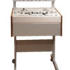 Custom Made Stand Trolley with Cabinet and VU Meter Bridge Console for Studer Reel to Reel Recorders