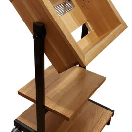 NEW Universal Custom Made Stand with Multiple Cabinets and Shelves for ANY Reel to Reel Recorder